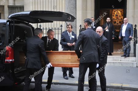 Stock Picture of The coffin