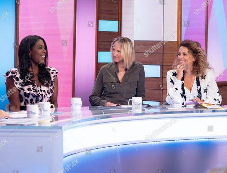 Stock Picture of Tessa Sanderson, Carol McGiffin, Nadia Sawalha