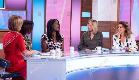 Editorial photo of 'Loose Women' TV show, London, UK - 27 Sep 2019
