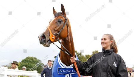 SPIRIT OF APPIN after Princess Anne Muhaarar Stakes Newmarket