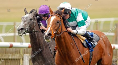 SPIRIT OF APPIN (Martin Dwyer) wins Princess Anne Muhaarar Stakes Newmarket
