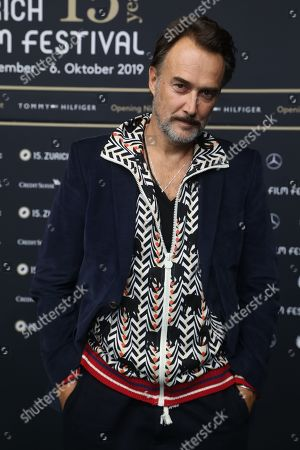 Swiss Actor Carlos Leal.