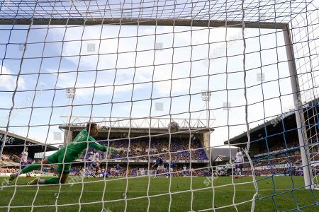 Kane Vincent-Young of Ipswich Town scores his sides fourth goal, 4-1 - Ipswich Town v Tranmere Rovers, Sky Bet League One, Portman Road, Ipswich, UK - 28th September 2019 Editorial Use Only - DataCo restrictions apply