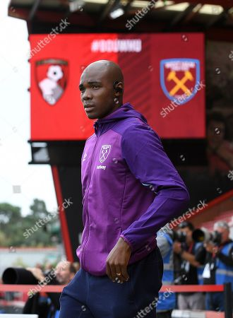 Angelo Ogbonna of West Ham United - AFC Bournemouth v West Ham United, Premier League, Vitality Stadium, Bournemouth, UK - 28th September 2019 Editorial Use Only - DataCo restrictions apply