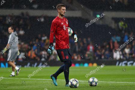 Sven Ulreich of Bayern Munich - Tottenham Hotspur v Bayern Munich, UEFA Champions League - Group B, Tottenham Hotspur Stadium, London, UK - 1st October 2019 Editorial Use Only