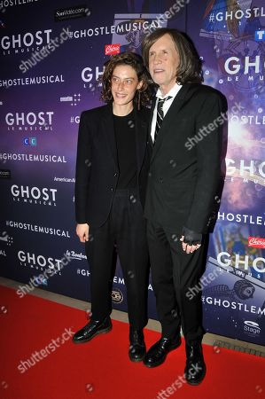 Stock Photo of Glen Ballard and Lily Oakes