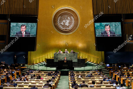 Editorial picture of UN General Assembly Indonesia - 27 Sep 2019