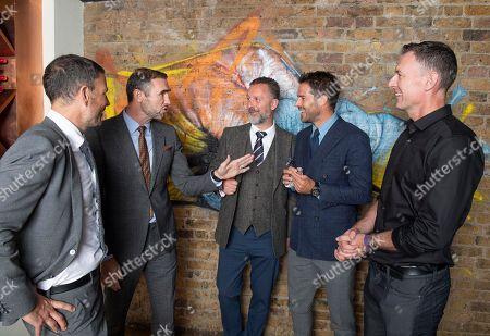 Daily Mail Sports Columnists Mark Clattenburg Martin Keown Lee Clayton Jamie Redknapp And Chris Sutton