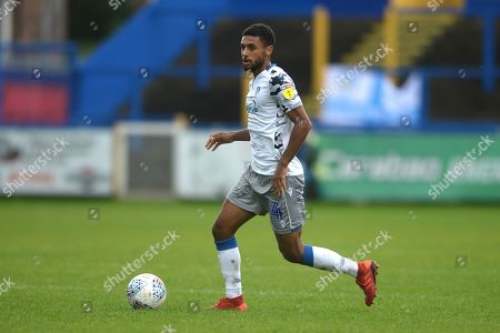 Brandon Comley of Colchester United - Macclesfield Town v Colchester United, Sky Bet League Two, Moss Rose, Macclesfield, UK - 28th September 2019