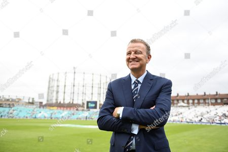 Richard Thompson Chairman Of The Oval Surrey. Photographed At The Oval Vauxhall London.