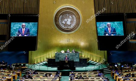 Editorial image of General Debate of the 74th session of the General Assembly of the United Nations, New York, USA - 27 Sep 2019