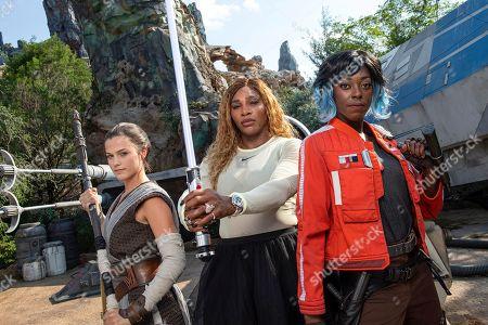 Editorial picture of Serena Williams visits 'Star Wars Galaxy's Edge', Orlando, USA - 26 Sep 2019