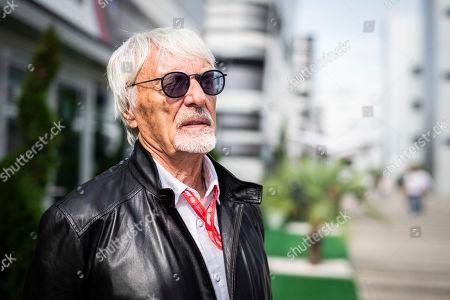 Motorsports: FIA Formula One World Championship 2019, Grand Prix of Russia,  Bernie Ecclestone (GBR),