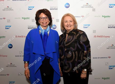 Editorial image of Seneca Women's Fifth Annual Forum: Fast Forward Women in the Economy, New York, USA - 26 Sep 2019