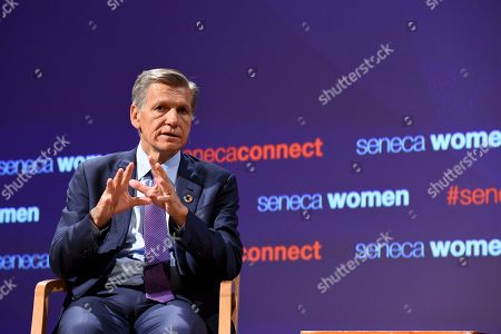 Marc Pritchard, Chief Brand Officer, P&G, addresses Seneca Women's forum, Fast Forward: Women in the Economy, at Metropolitan Museum of Art in New York. Today's forum looks at how individuals, communities and companies are advancing women and helping create progress. Visit SenecaWomen.com to learn more