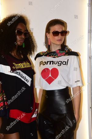 Editorial picture of Portugal presentation, Spring Summer 2020, Paris Fashion Week, France - 26 Sep 2019