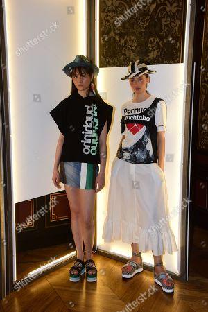 Editorial photo of Portugal presentation, Spring Summer 2020, Paris Fashion Week, France - 26 Sep 2019