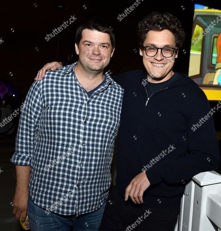 Stock Picture of Chris Miller and Phil Lord