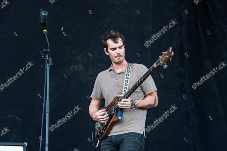 Charles Michael Parks Jr. of All Them Witches performs during Louder Than Life at Highland Festival Grounds at KY Expo Center, in Louisville, Ky