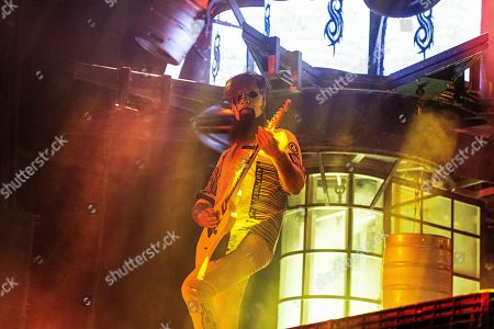 Jim Root of Slipknot performs during Louder Than Life at Highland Festival Grounds at KY Expo Center, in Louisville, Ky