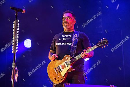 Stock Image of Aaron Lewis of Staind performs during Louder Than Life at Highland Festival Grounds at KY Expo Center, in Louisville, Ky