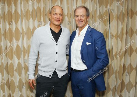 Stock Picture of Woody Harrelson, Bill Haney