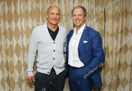 Stock Image of Woody Harrelson, Bill Haney