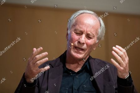 Stock Picture of US writer Richard Ford during the presentation of his latest book 'Lamento lo ocurrido' (lit. 'I am sorry for what happened'), a recompilation of short stories, in Barcelona, Spain, 27 September 2019. Ford decided to publish his newest book in Spain before everywhere else as a present to Spanish editor Jorge Herralde for the 50th anniversary of Anagrama publishing house.