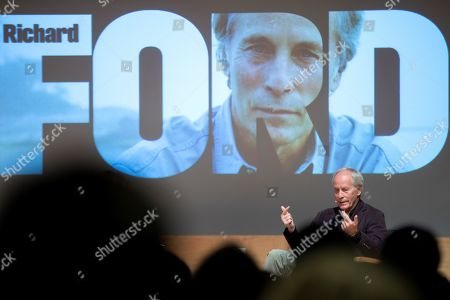 US writer Richard Ford during the presentation of his latest book 'Lamento lo ocurrido' (lit. 'I am sorry for what happened'), a recompilation of short stories, in Barcelona, Spain, 27 September 2019. Ford decided to publish his newest book in Spain before everywhere else as a present to Spanish editor Jorge Herralde for the 50th anniversary of Anagrama publishing house.