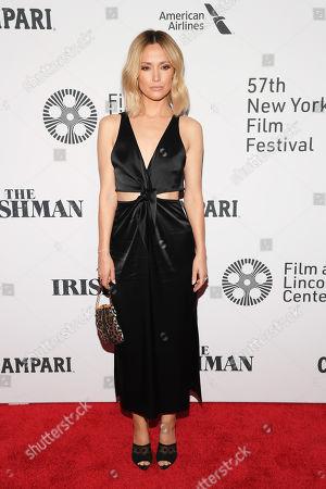 Editorial photo of 'The Irishman' film premiere, Arrivals, 57th New York Film Festival, USA - 27 Sep 2019