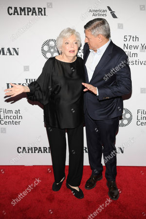Thelma Schoonmaker and Ted Sarandos
