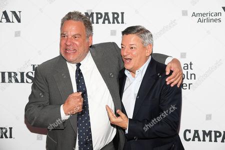 Jeff Garlin and Ted Sarandos