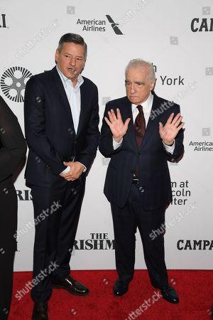 Ted Sarandos and Martin Scorsese