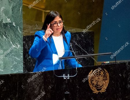 Editorial photo of UN General Assembly Venezuela - 27 Sep 2019