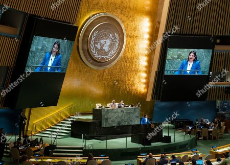Editorial picture of UN General Assembly Venezuela - 27 Sep 2019