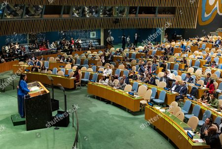 Editorial image of UN General Assembly Venezuela - 27 Sep 2019
