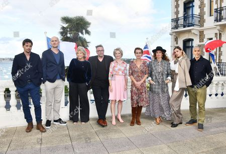 Stock Picture of Raphael Personnaz, James Watkins, Daniele Thompson, Michael Caton-Jones, Jane Horrocks, Sandrine Bonnaire, Aurelie Saada, Sveva Alviti and Sami Bouajila