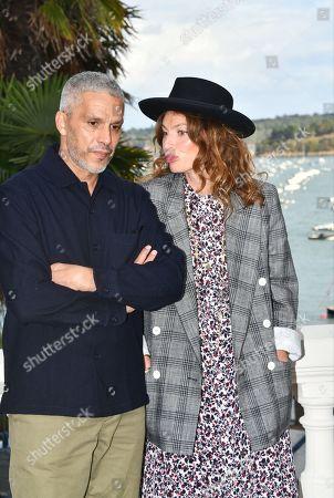 Sami Bouajila and Aurelie Saada