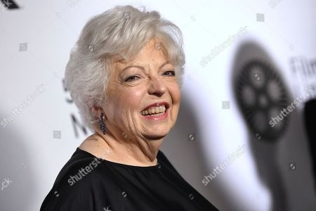 "Editor Thelma Schoonmaker attends the world premiere of ""The Irishman"" at Alice Tully Hall during the opening night of the 57th New York Film Festival, in New York"