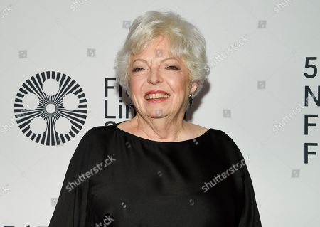 "Film editor Thelma Schoonmaker attends the world premiere of ""The Irishman"" at Alice Tully Hall during the opening night of the 57th New York Film Festival, in New York"