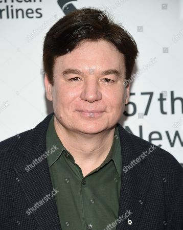 """Mike Myers attends the world premiere of """"The Irishman"""" at Alice Tully Hall during the opening night of the 57th New York Film Festival, in New York"""
