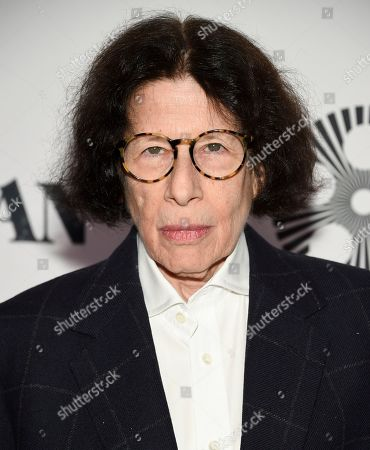 """Fran Lebowitz attends the world premiere of """"The Irishman"""" at Alice Tully Hall during the opening night of the 57th New York Film Festival, in New York"""