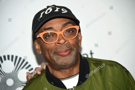 """Spike Lee attends the world premiere of """"The Irishman"""" at Alice Tully Hall during the opening night of the 57th New York Film Festival, in New York"""