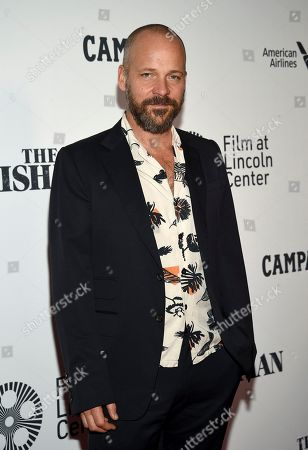 """Peter Sarsgaard attends the world premiere of """"The Irishman"""" at Alice Tully Hall during the opening night of the 57th New York Film Festival, in New York"""