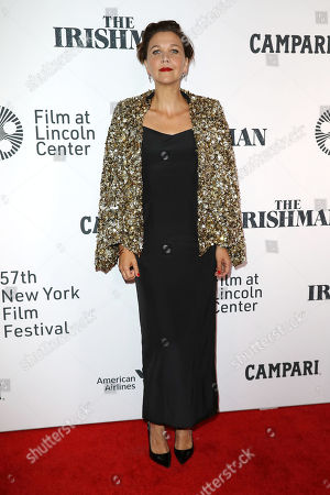 """Editorial picture of NYFF57 Opening Night Gala Presentation and the World Premiere of """"THE IRISHMAN"""" - Arrivals, New York, USA - 27 Sep 2019"""