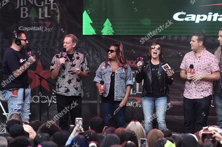 Mo Bounce, Elvis Duran, Ghandi, Danielle Monaro, Skeery Jones