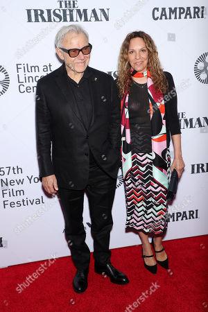 Harvey Keitel and wife Daphna Kastner