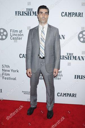 Editorial picture of 'The Irishman' film premiere, Arrivals, 57th New York Film Festival, USA - 27 Sep 2019