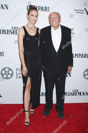 Irwin Winkler and granddaughter Maya