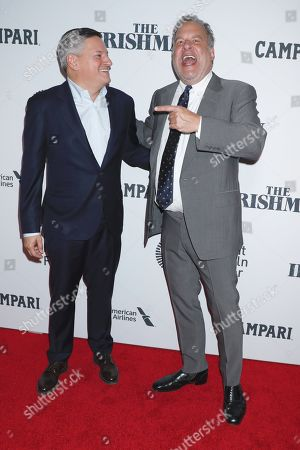 Ted Sarandos and Jeff Garlin